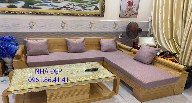 may nệm lót ghế gỗ 22