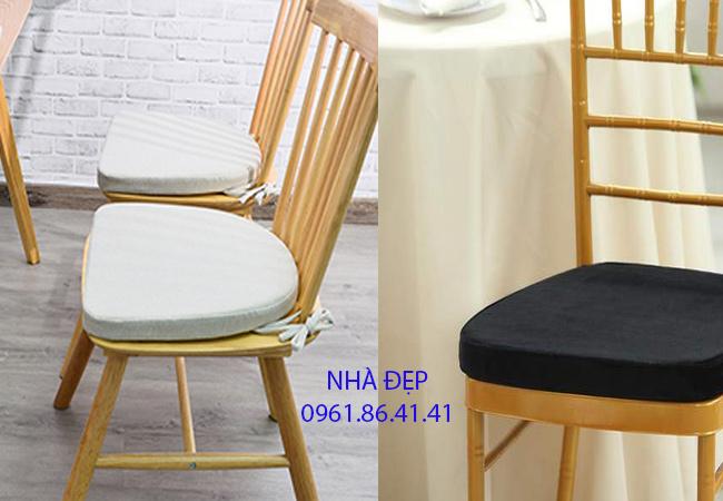 Nệm Lót ghế gỗ bàn ăn