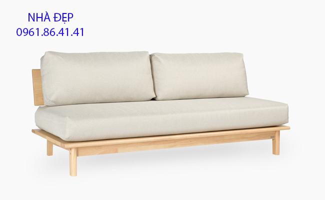 nệm lót ghế sofa gỗ băng dài