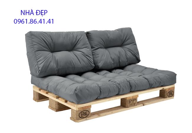 Nệm lót ghế gỗ pallet