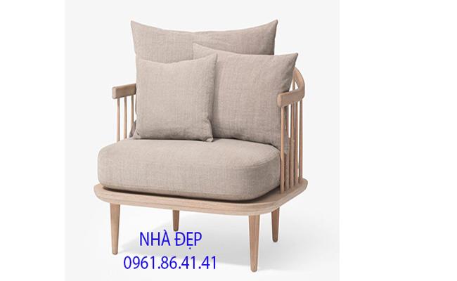 nệm lót ghế sofa gỗ đơn