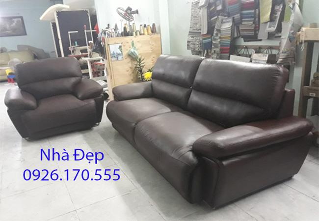 Bọc lại ghế sofa giả da chilai quận 8
